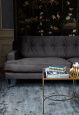 NOVEL HOWARD velvet sofa