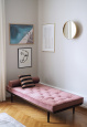 RITZY velvet daybed