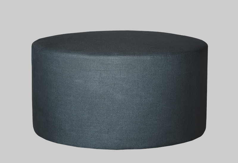 GRAND linen pouf in the group Furniture at Layered (FLGRANDT)