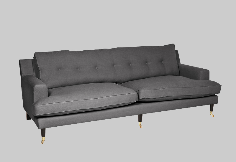 NOVEL HOWARD linen sofa in the group Shop Furniture / Sofas at Layered (FLNOVDG)