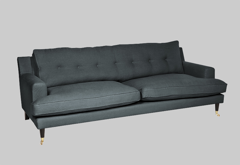 NOVEL HOWARD linen sofa in the group Furniture / Sofas / Linen sofas at Layered (FLNOVDT)