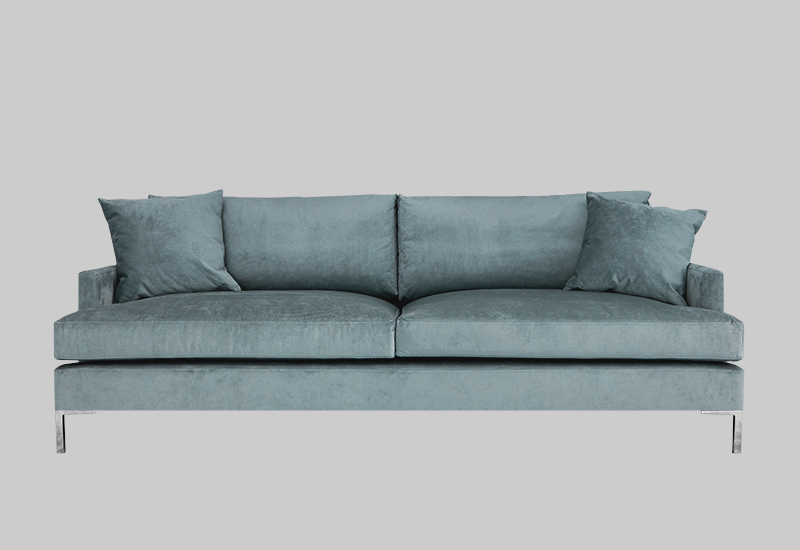 Devon Velvet Sofa In The Group Furniture Sofas At Layered Fvdevdt