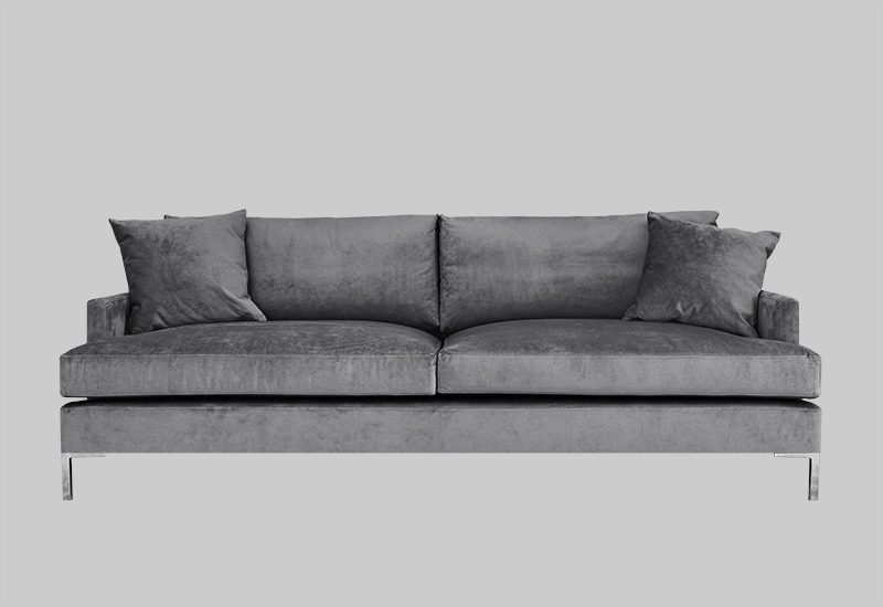 DEVON velvet sofa in the group Shop Furniture / Sofas at Layered (FVDEVLG)
