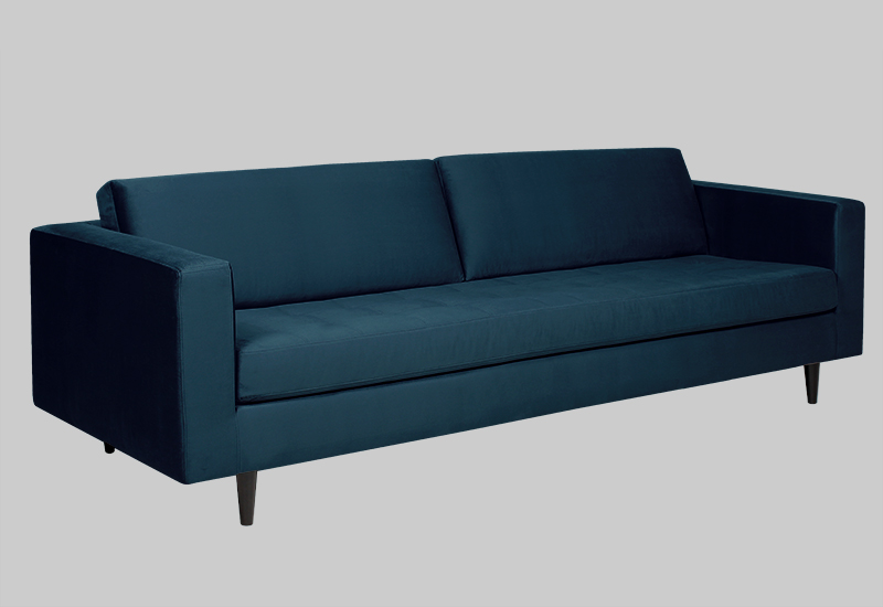 ECLECTIC velvet sofa in the group Shop Furniture / Furniture with express delivery at Layered (FVECLDP)