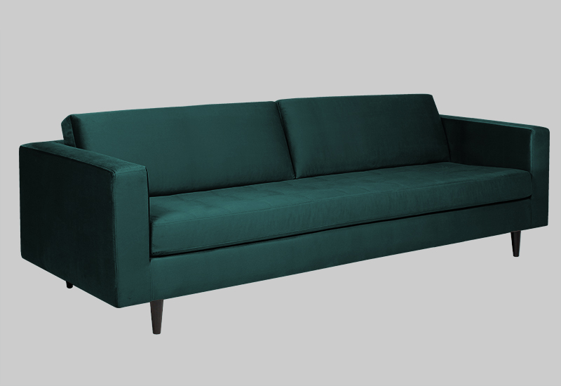 ECLECTIC velvet sofa in the group Shop Furniture / Sofas at Layered (FVECLEG)
