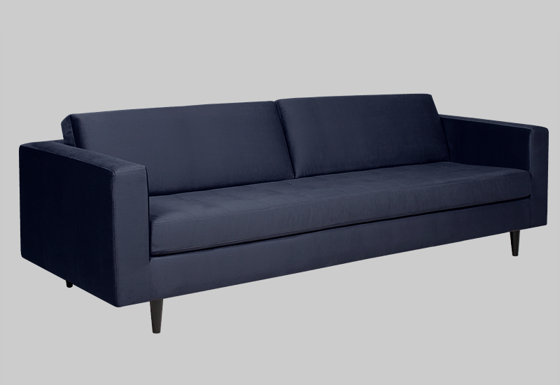 ECLECTIC velvet sofa in the group Shop Furniture / Sofas at Layered (FVECLMB)