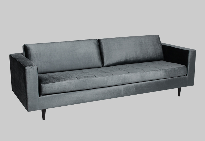 ECLECTIC SHINY velvet sofa in the group Shop Furniture / Sofas at Layered (FVECLOG)
