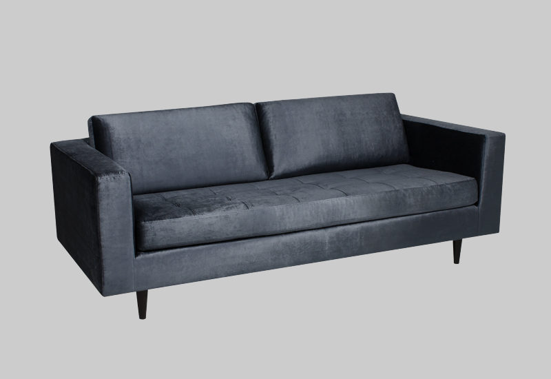 Eclectic Shiny Velvet Sofa In The Group Furniture Sofas At Layered Fvecltg