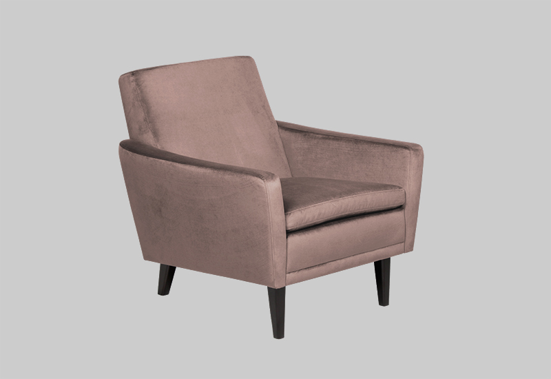 GARNER velvet armchair in the group Furniture / Chairs & Armchairs at Layered (FVGARCO)