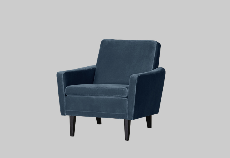 GARNER velvet armchair in the group Shop Furniture / Chairs & Armchairs at Layered (FVGARDP)