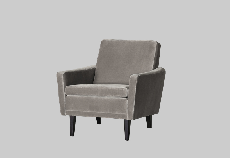 GARNER velvet armchair in the group Shop Furniture / Chairs & Armchairs at Layered (FVGARGS)