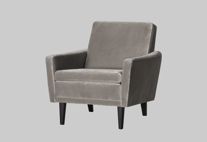 GARNER velvet armchair in the group Shop Furniture / Chairs & Armchairs at Layered (FVGARGS01)