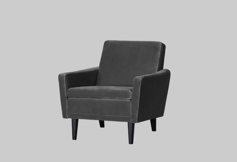 GARNER velvet armchair in the group Shop Furniture / Chairs & Armchairs at Layered (FVGARSG)