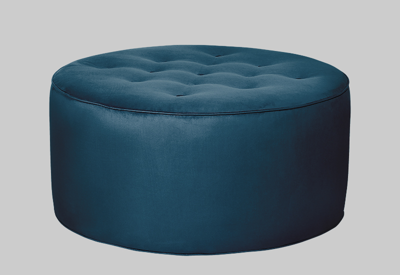 GRACE velvet pouf in the group Shop Furniture / Poufs at Layered (FVGRACDP)