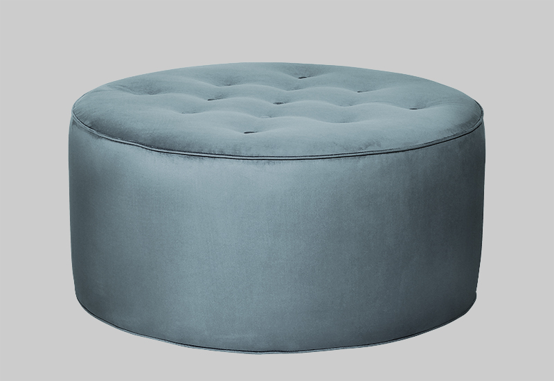 GRACE velvet pouf in the group Shop Furniture / Poufs at Layered (FVGRACDT)