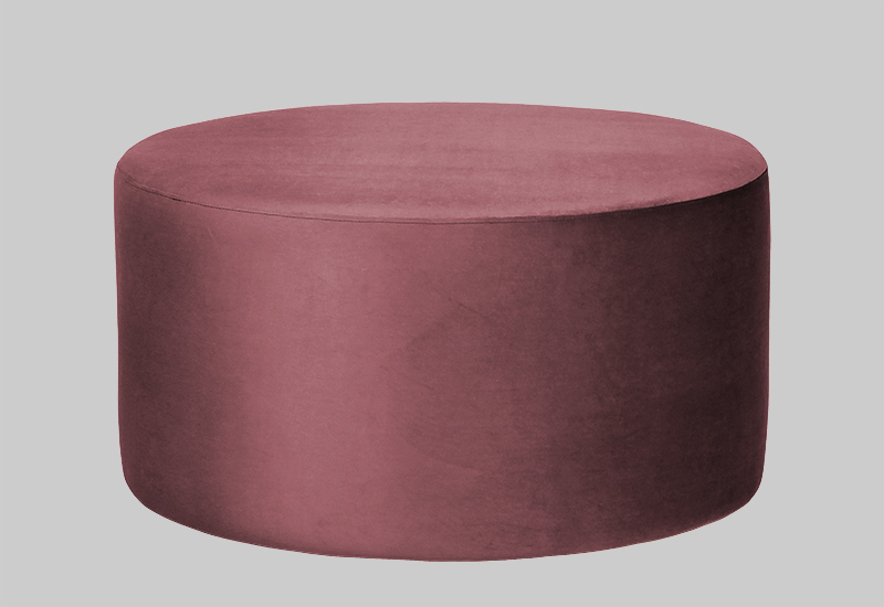 GRAND velvet pouf in the group Shop Furniture / Poufs at Layered (FVGRANBR)