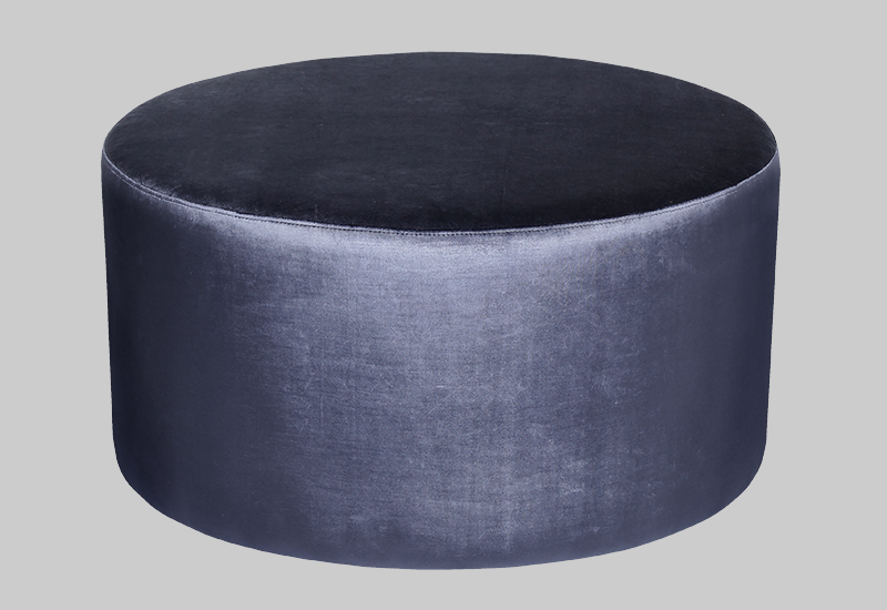 GRAND SHINY velvet pouf in the group Shop Furniture / Poufs at Layered (FVGRANDB)