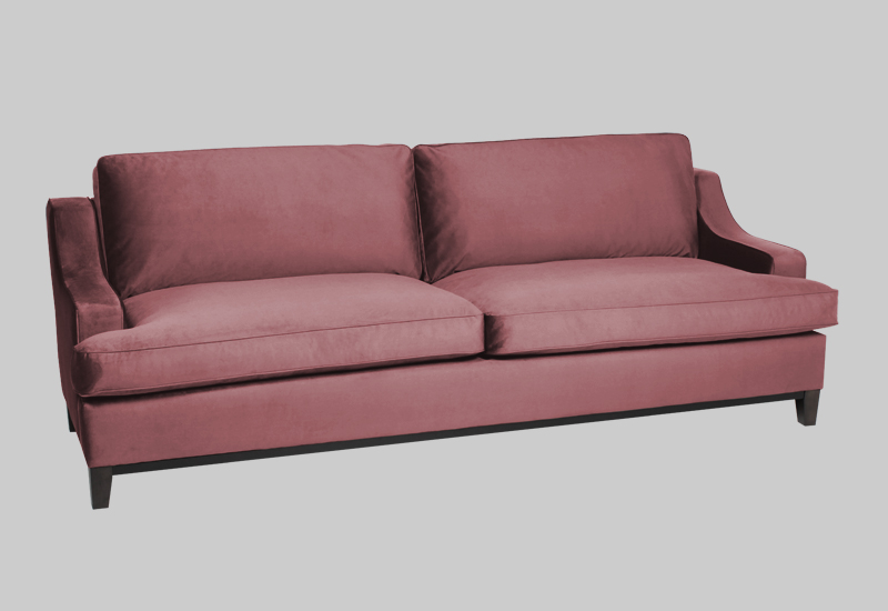 IMPERIAL velvet sofa in the group Shop Furniture / Sofas at Layered (FVIMPBR)