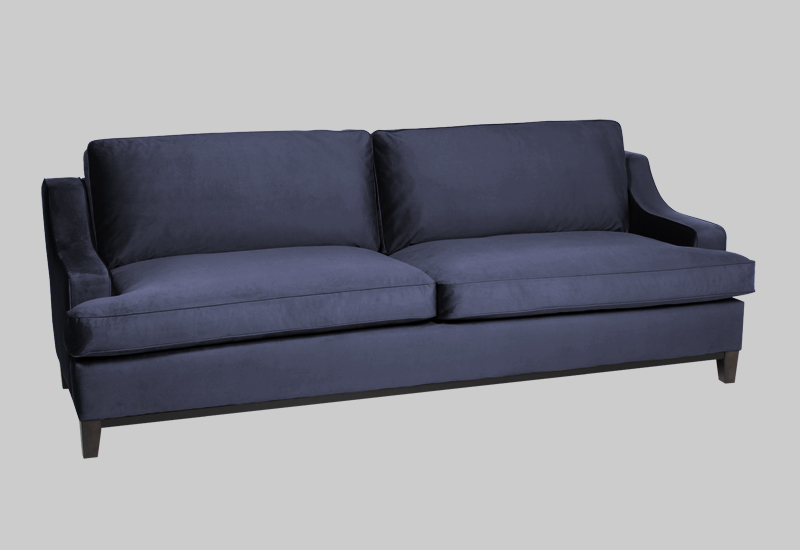 IMPERIAL velvet sofa in the group Furniture / Sofas / Velvet sofas at Layered (FVIMPMB)
