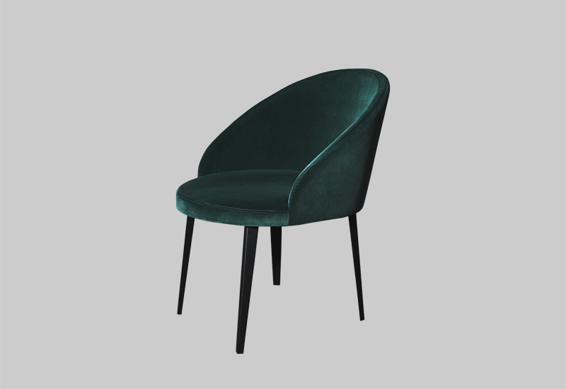 LOUNGE velvet chair in the group Shop Furniture / Chairs & Armchairs at Layered (FVLOUEG)