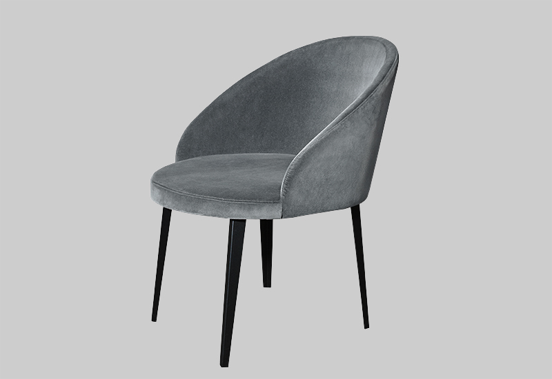 LOUNGE velvet chair in the group Shop Furniture / Chairs & Armchairs at Layered (FVLOULG)