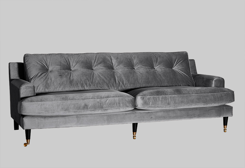 NOVEL HOWARD velvet sofa in the group Shop Furniture / Sofas at Layered (FVNOVLG)
