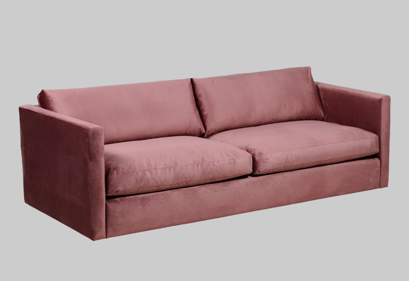PALMDALE velvet sofa in the group Shop Furniture / Sofas / Velvet sofas at Layered (FVPALBR)