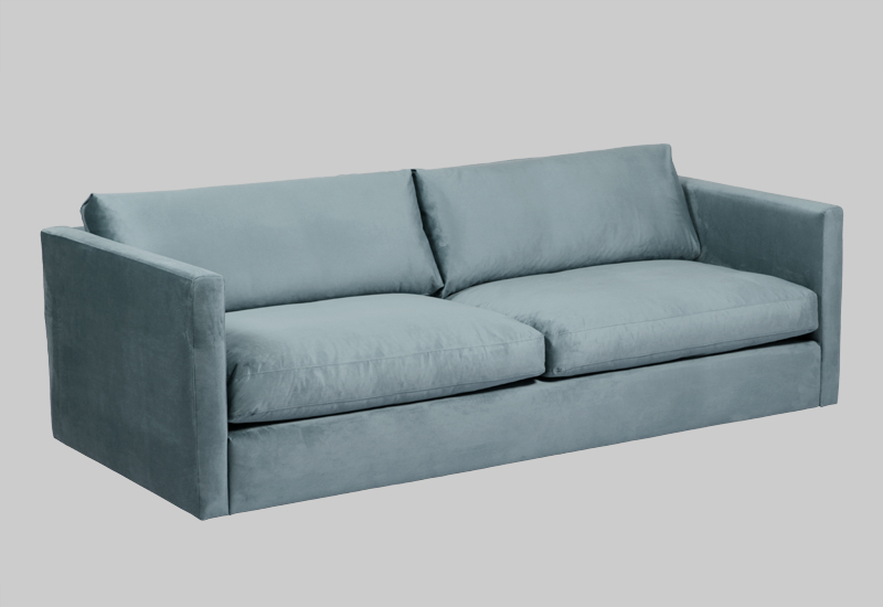 PALMDALE velvet sofa in the group Shop Furniture / Sofas at Layered (FVPALDT)