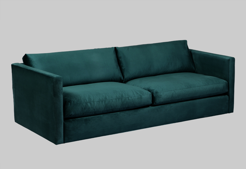PALMDALE velvet sofa in the group Shop Furniture / Sofas / Velvet sofas at Layered (FVPALEG)