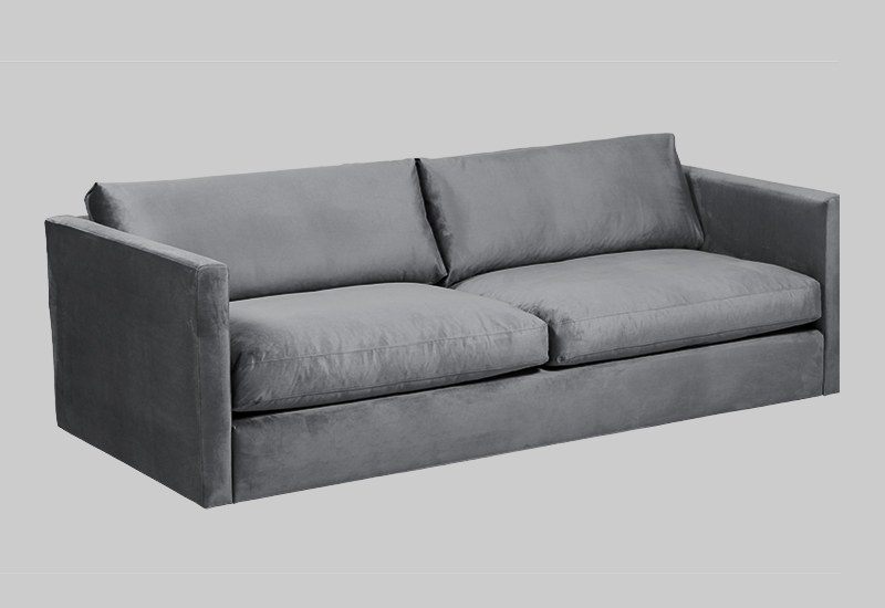 PALMDALE velvet sofa in the group Shop Furniture / Sofas / Velvet sofas at Layered (FVPALLG)