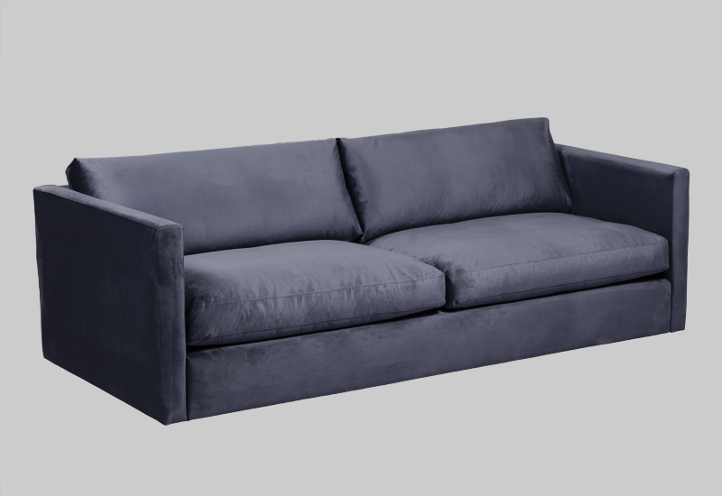 PALMDALE velvet sofa in the group Shop Furniture / Sofas / Velvet sofas at Layered (FVPALMB)