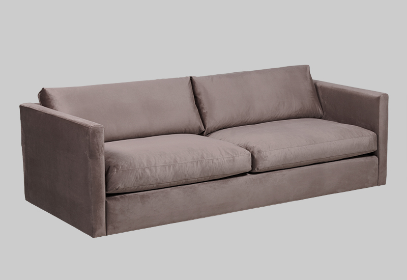 PALMDALE velvet sofa in the group Shop Furniture / Sofas / Velvet sofas at Layered (FVPALMO)
