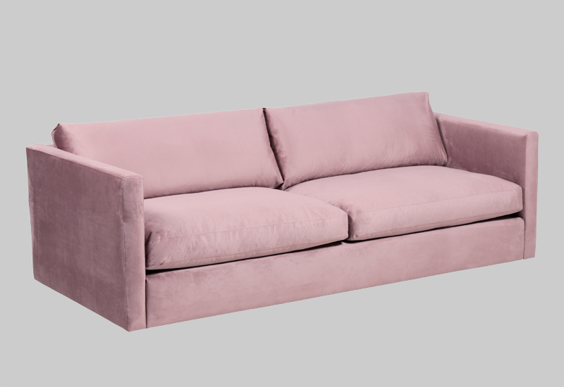 PALMDALE velvet sofa in the group Shop Furniture / Sofas / Velvet sofas at Layered (FVPALPP)