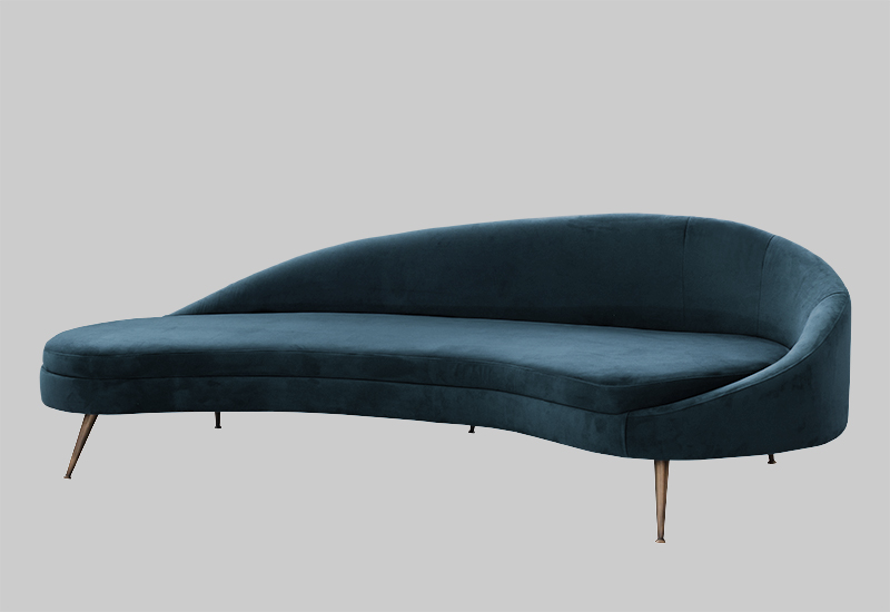 PORTO velvet sofa in the group Shop Furniture / Sofas at Layered (FVPORDP)
