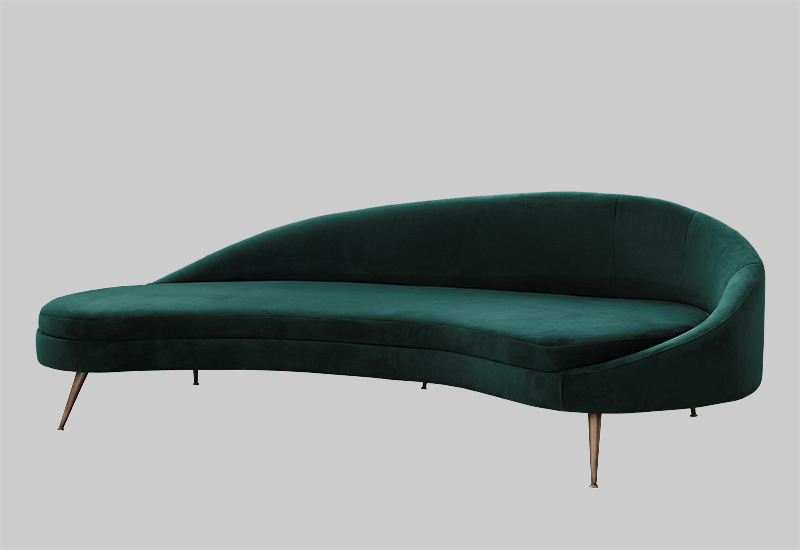 PORTO velvet sofa in the group Shop Furniture / Sofas at Layered (FVPOREG)