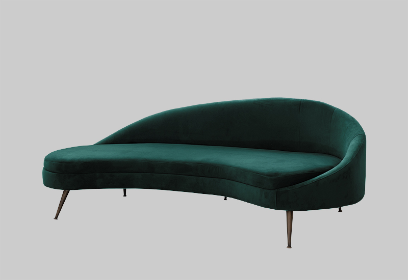 PORTO Velvet Sofa In The Group Shop Furniture / Sofas At Layered (FVPOREG)