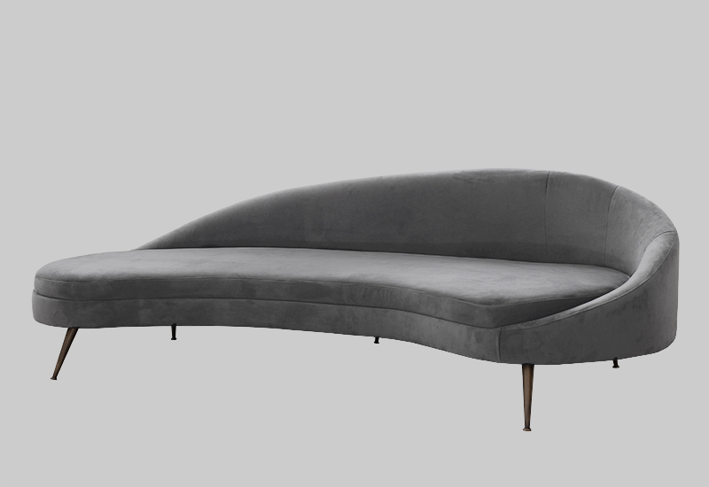 PORTO velvet sofa in the group Furniture / Sofas / Velvet sofas at Layered (FVPORLG)