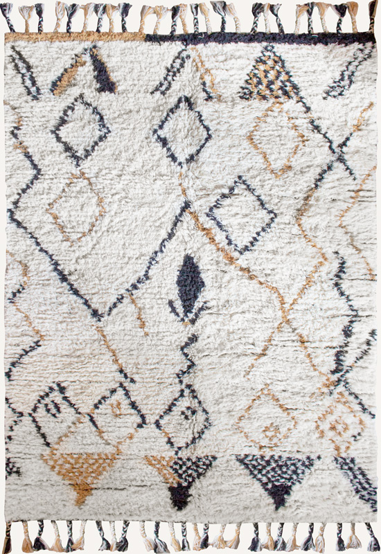 MODERN ORIENTAL Shaggy Rug in the group Shop Rugs / Shaggy Rugs at Layered (RESSAF)