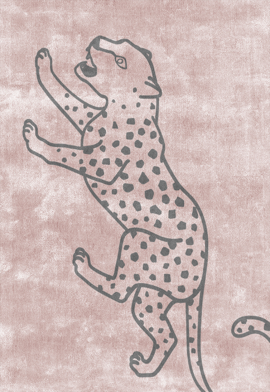 CHEETAH Viscose Rug in the group Shop Rugs / Patterned Rugs at Layered (VCHEDP)