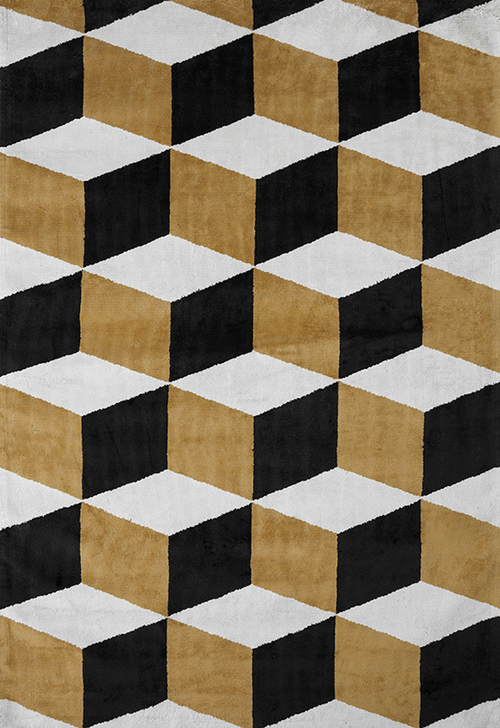 ILLUSION Viscose Rug in the group Shop Rugs / Patterned Rugs at Layered (VILLGD)