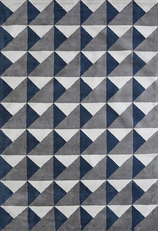 Viscose Triangle Shop Rugs Layered