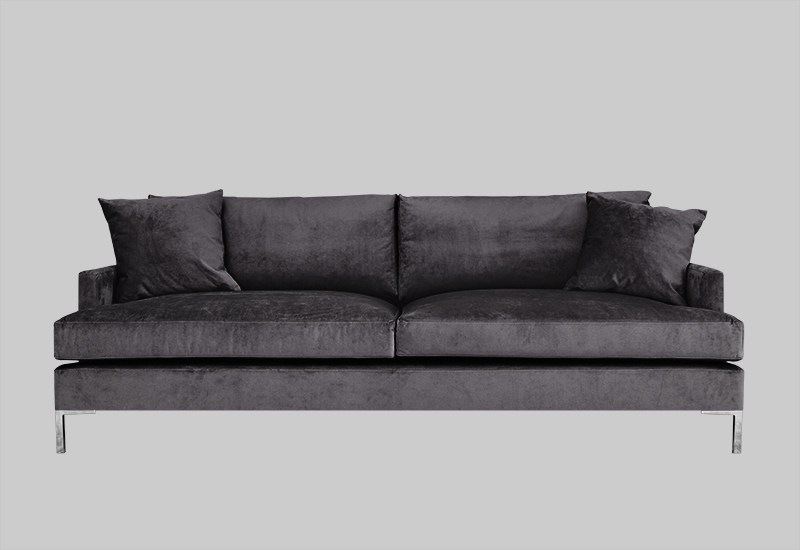 Ordinaire DEVON Velvet Sofa In The Group Shop Furniture / Sofas At Layered (fvdevsg)