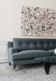 NOVEL HOWARD linen sofa